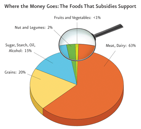 Subsidies where the money goes