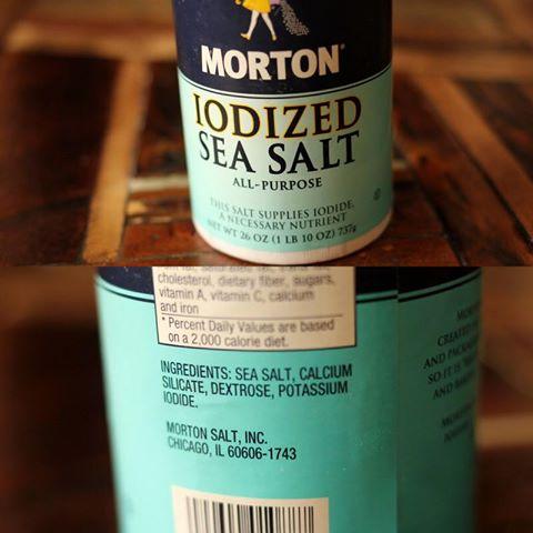 Salt with Sugar