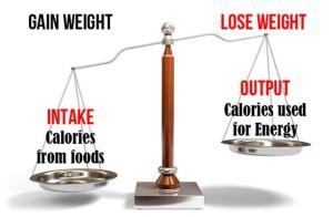 Calorie Balance Scale