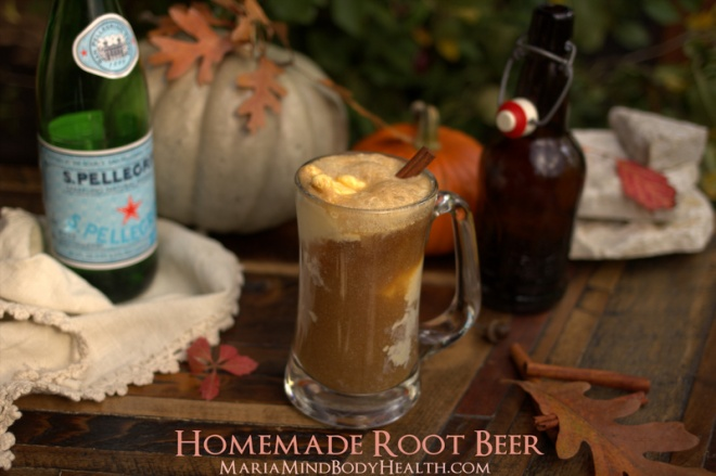 Homemade Rootbeer - Low Carb