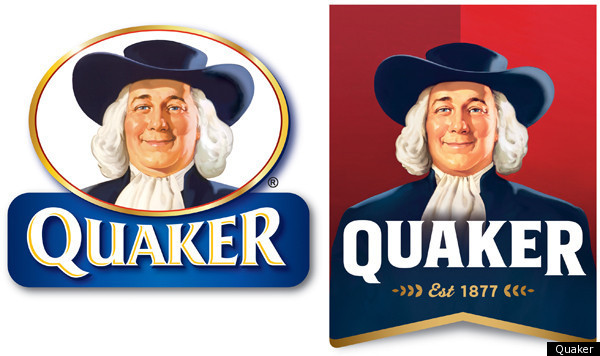 Larry, the Quaker Oats mascot loses 10 lbs for new 2012 cover (He finally figures it out after 137 years)