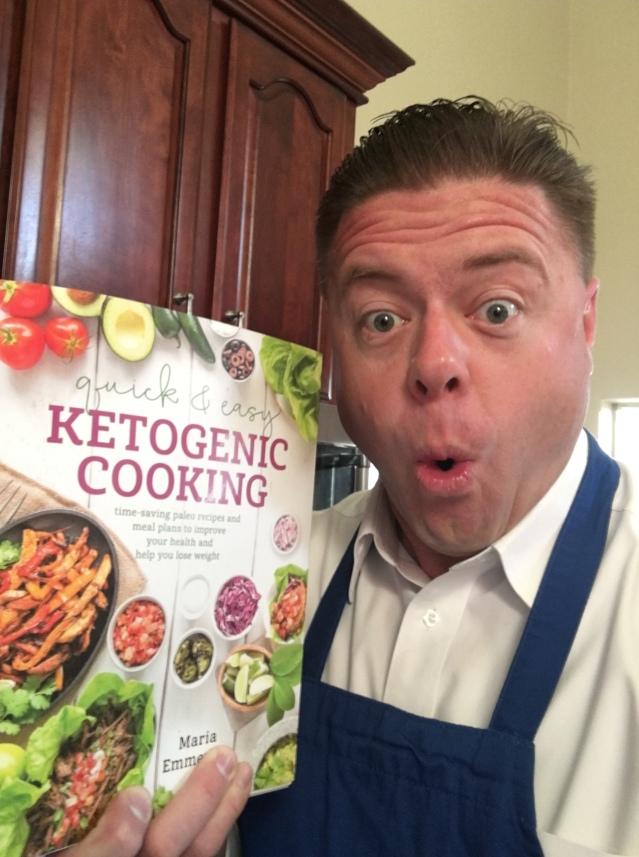 Ketogenic Cookbook Selfie