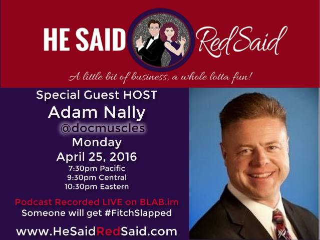 HeSaidRedSaid Guest Host