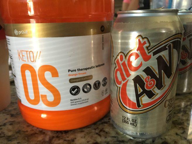 KetoOS Cream Soda