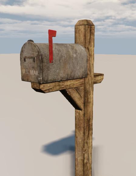 Mailbox desert